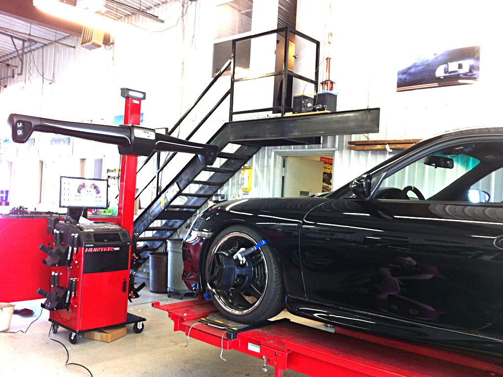 Hunter Wheel Alignment System